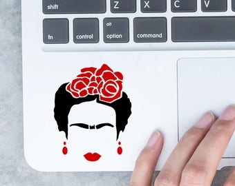 I Love Frida Kahlo Small Size Vinyl Sticker - Yeti Cup - Hydro Flask decal - Laptop decal - iPhone Stickers