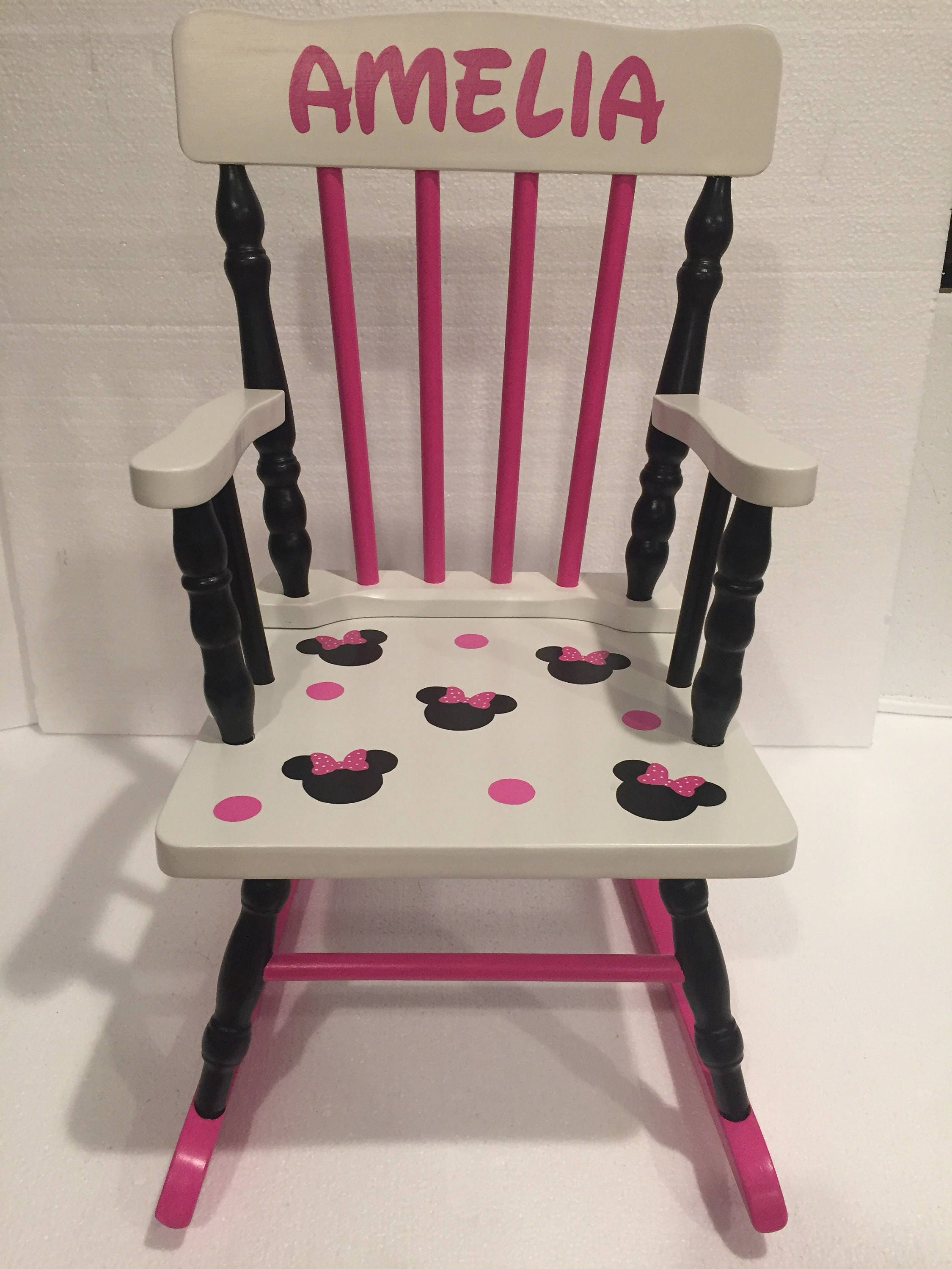 Minnie Mouse Rocking Chair Minnie Mouse Kids Bedroom