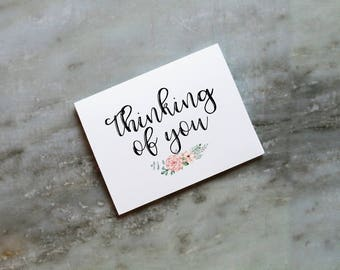 10 Pack Thinking of You Greeting Cards