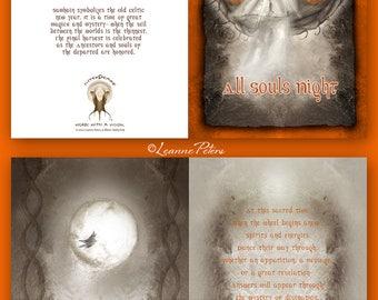 Samhain - Halloween - High Holiday - Sabbat Card