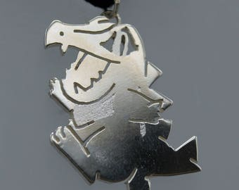 Ciondolo Totodile - Pokémon - in argento 925, realizzato a mano GOTTA CATCH 'Em ALL