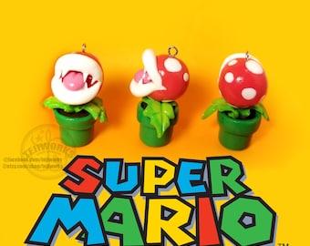 Super Mario   Piranha Plant Charm