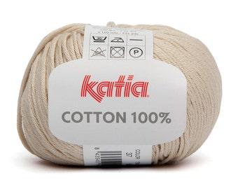 Cotton Yarn, Katia Cotton, Baby Cotton Yarn, Amigurumi Yarn, Yarn For Doll, Katia Yarn, Cotton Knitting Yarn, Knitting Yarn, Crochet Yarn