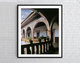 Patzcuaro Arches,Michoacan Mexico,Old Arches,Intant Download,                    Wall Art Decor,Posters Print,Mexico Photos,Printable Art