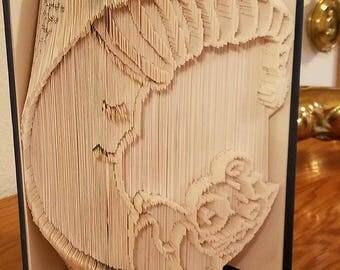 Moon Bear Book Folding Pattern