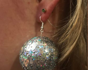 Disco New Years Earrings!