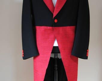 Steampunk wool tail coat size 38