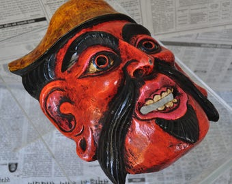 Carved wooden - DM081 Nepalese mask