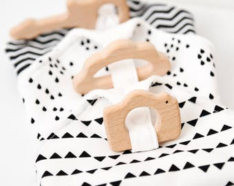 Blanket of Maria (natural beech wood teething ring)
