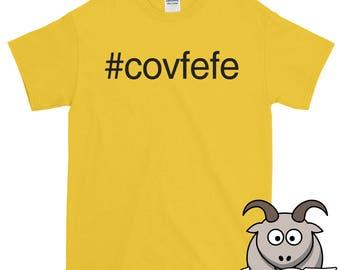 Covfefe Shirt, Anti Trump Shirt, Funny Shirts, Trump Twitter Shirt, Not My President Shirt, Trump Tee, Covfefe Tee, Trump Quote Shirt