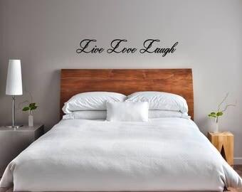Live Love Laugh Wall Sticker Quote