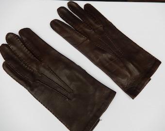 Black Leather Ladies Driving Gloves, Black Leather Gloves, Leather Gloves, Ladies Driving Gloves, Soft Black Lined Leather Gloves,