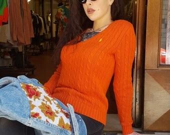 Vintage cotton knitwear '90s Ralph Lauren 3-26