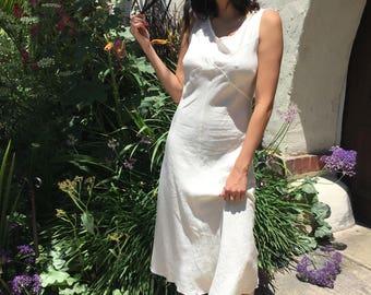 Ivory Summer Maxi Dress