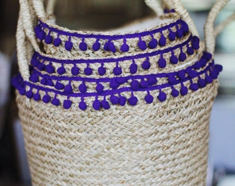 Little Purple Rattan Bag