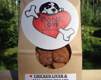 CHICKEN LIVER & MOLASSES Dog Treats 400 grams
