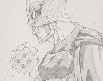 Perfect Cell pencils