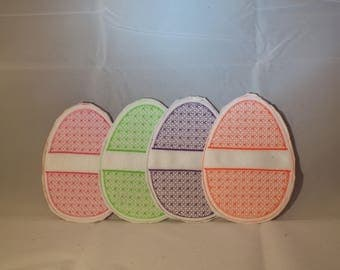 Felt easter egg etsy felt easter egg candygift cardmoney holders in all colors negle Images