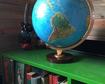 Repogle Lighted Globe Night Light Mood World Travel