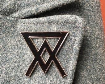 Arsenic Symbol Enamel Pin