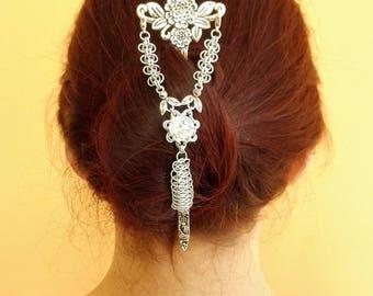 Hair Jewelery Silver