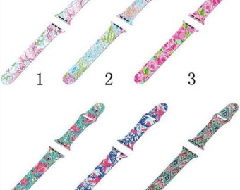 Lilly Pulitzer Inspired Apple Watch Bands