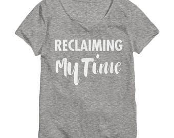 Reclaiming My Time Shirt - Maxine Waters Shirt -  Feminist Shirt - Feminist Tshirt - Anti Trump Shirt - Flowy Shirt - Slouchy Shirt - 038