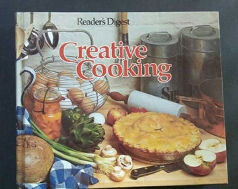Creative Cooking , 1978 , Readers Digest , Creative Cooking Cookbook