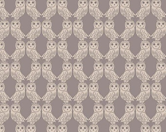 Owls on latte, from Enchanted Forest range from Lewis & Irene