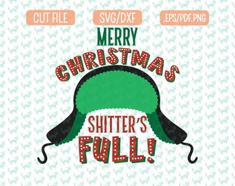 Christmas Vacation SVG, DXF, EPS, png Files for Cutting Machines Cameo or Cricut - Funny Svg, Cousin Eddie Svg