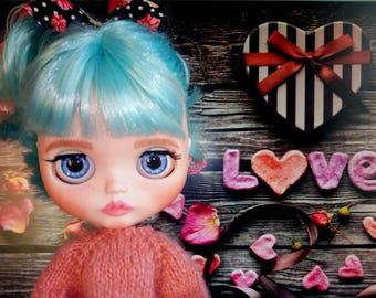 OOAK Custom Blythe doll Brittany reserve