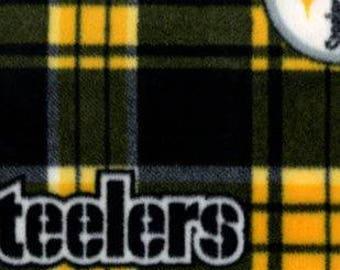 Pittsburgh Steelers Printed Fleece Tied Blanket