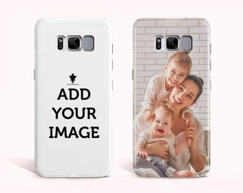 Personalized Samsung Galaxy S8 - Galaxy S8 Plus - Galaxy s7 - Phone Case - Make your Phone Case-Customized Case with Your Photo, Quote, Text