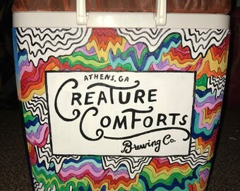 Hand-painted Formal Cooler