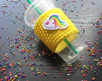 Rainbow pride - Pride - Rainbow cups - Drink covers - Drink cozy - Beer cozy - Coffee accessories - Mug Cozy - Coffee cozy - Cup cozy