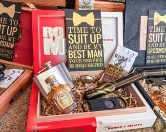 Will You Be My Groomsman / Best Man Gift Box - Fully Loaded