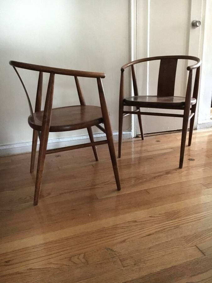 Hagafors Bra Bohag Swedish Mid Century Chairs 1959 +++ Pick Up Only NYC  Manhattan