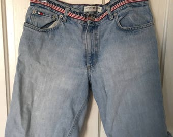 Vintage Tommy Hilfiger Cut Off Jean Shorts