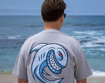 Sharky T-Shirt (Screen Print | Surf | Skate)