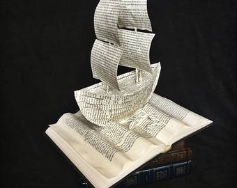 Sailing Adventure: Ship Sculpture from The Odyssey