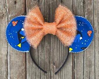 Nemo & Dory Minnie Ears