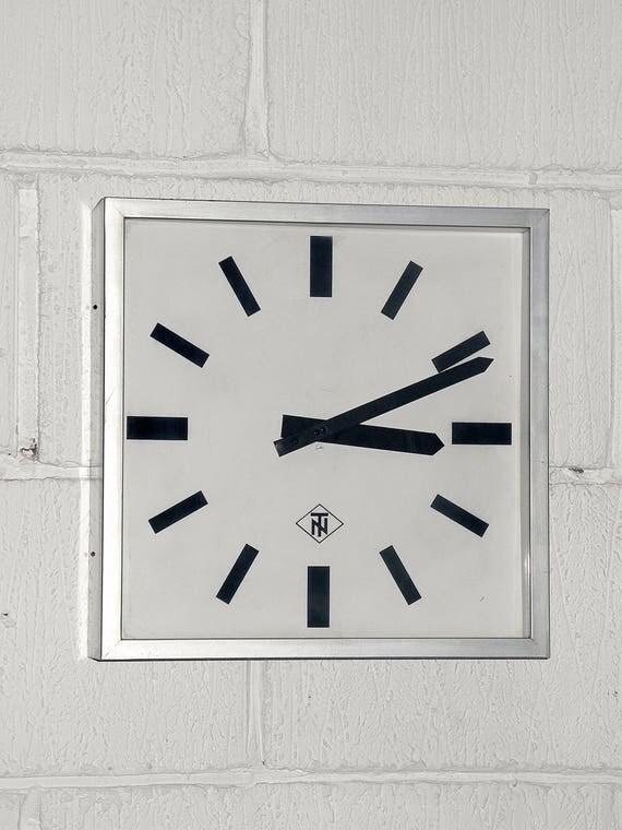 Tele Norma TN West German Factory Clock Circa 1970's