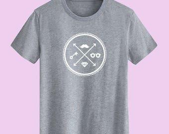 Hipster unisex T shirt, t shirts for men t shirts for women youth t shirt street t-shirts customize gift t shirt