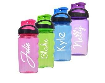 Kids Water Bottles/kids party favors/water bottle party favor/child water bottles/personalized water bottles/personalized water bottle