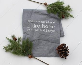 Christmas Dish Towel- Home for the Holidays