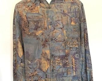 Italian Silk Shirt