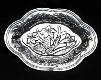 LENOX BUTTERFLY MEADOW Serving Trays ~ Lenox Serving Trays ~ Vintage Lenox Trays ~ Holiday Serving Trays ~ Birthday Gifts ~ Wedding Gifts