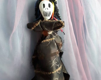 Voodoo Doll Authentic New Orleans Original Hand Made Elegant Vodou blessed to banish negativity or negative people from your life