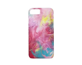 Bright spark - phone case, iPhone case, abstract art, funky design