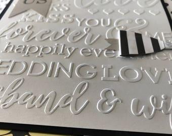 Forever Love Embossing Folder